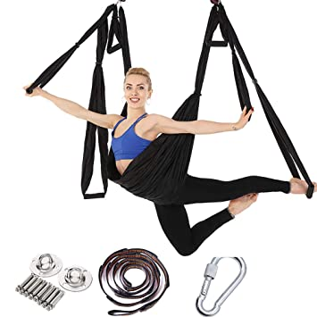 PUDDINGHH® Aérea Swing Set Yoga - Yoga antigravedad Ultra ...