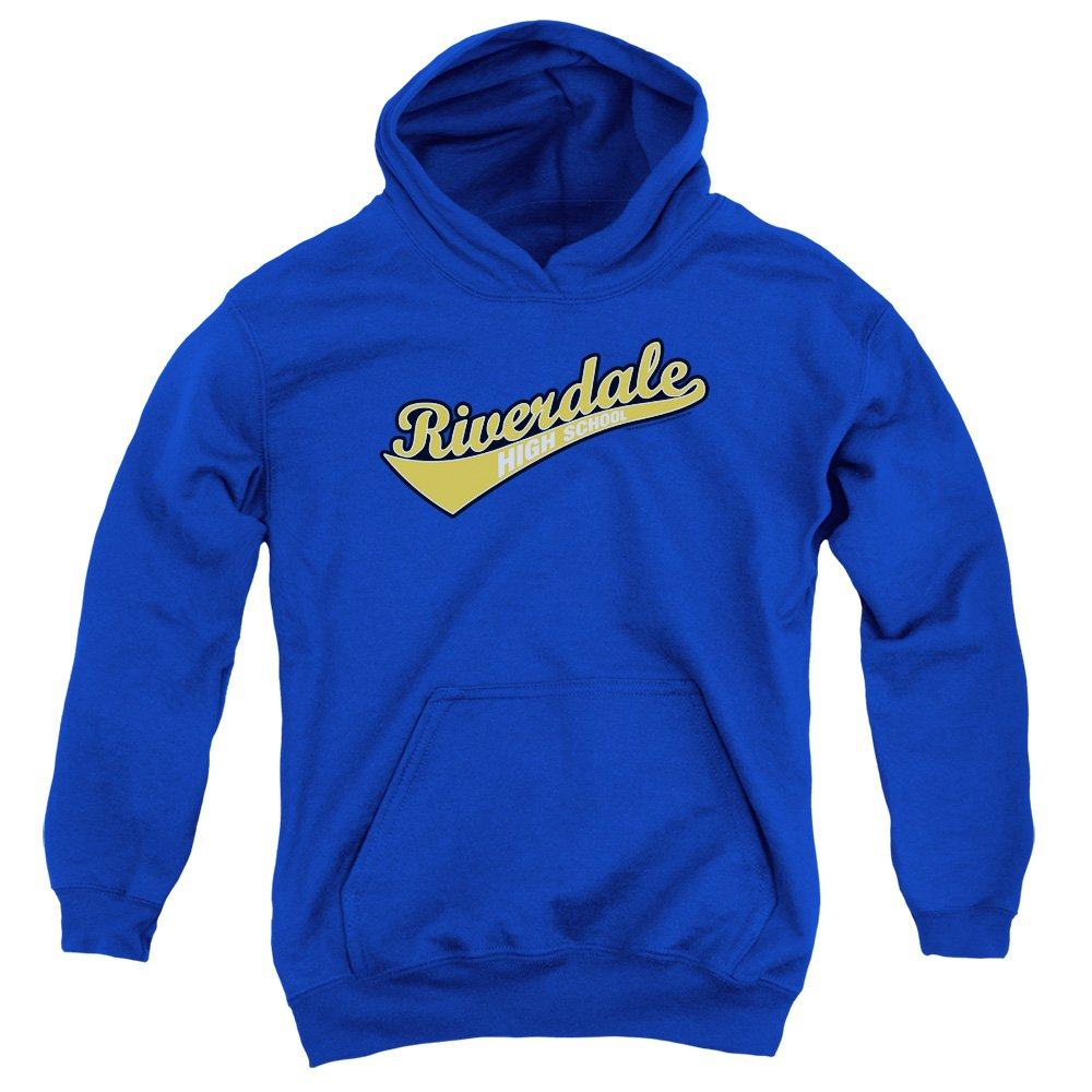Amazon.com: Archie Comics Riverdale High School Youth Pull Over Hoodie Royal Blue ...: Clothing