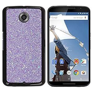 iKiki Tech / Estuche rígido - Purple Reflection Snow Winter - Motorola NEXUS 6 / X / Moto X Pro