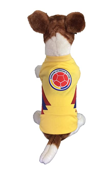 My Pet Boutique Dog Soccer Jersey Colombia (X-Large)-