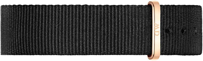 Daniel Wellington DW00200137 - Reloj Correas Para Unisex Adultos, color Negro/Negro