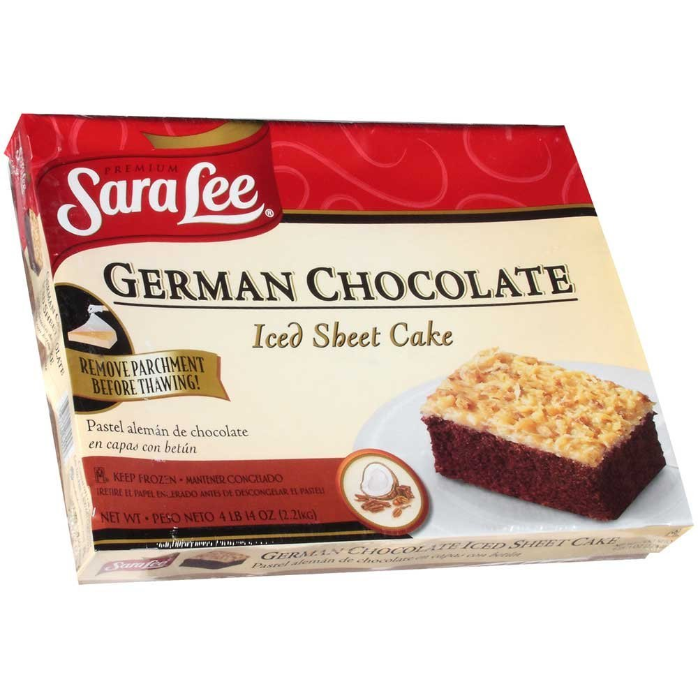 Inch German Chocolate Cake Price Cost