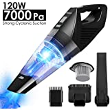 Kranich Cordless Handheld Vacuum Cleaner Rechargeable Portable Cyclonic 120W 7000Pa