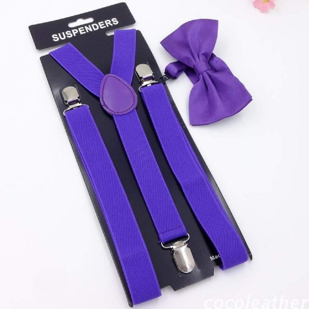 Suspenders Suspend Tirantes llamativos de 2.5 mm para niños Juego ...