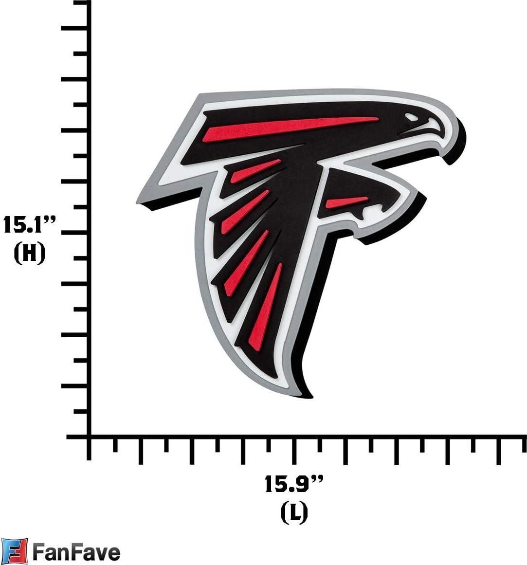 NFL Atlanta Falcons 3D Foam Wall Clock
