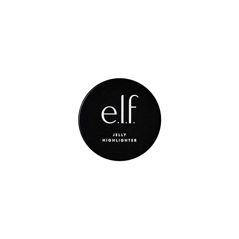 e.l.f. Jelly Highlighter Luminous Glow, Cloud Rose Gold, 0.44 Fl Oz