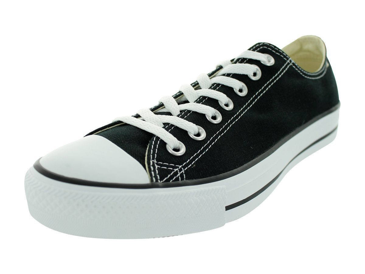 Converse Unisex Chuck Taylor All Star Ox Black Basketball Shoe 10.5 Men US