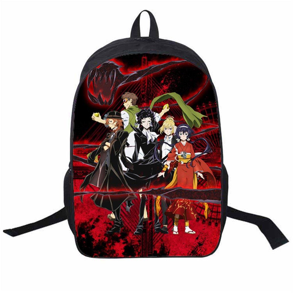 defb4ca8fdd5 60%OFF YOYOSHome Anime Bungo Stray Dogs Cosplay Shoulder Bag Bookbag ...