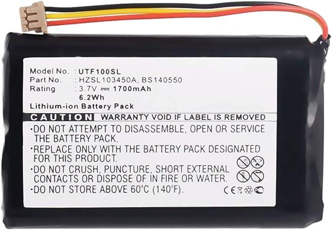 subtel® Batería Premium Compatible con UTStarcom F1000, F1000 WiFi, BS140550, HZSL103450A 1700mAh bateria Repuesto Pila: Amazon.es: Electrónica