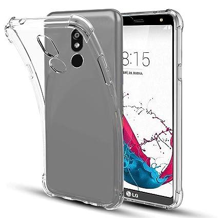 Amazon.com: SKTGSLAMY - Carcasa de silicona para LG Stylo 5 ...