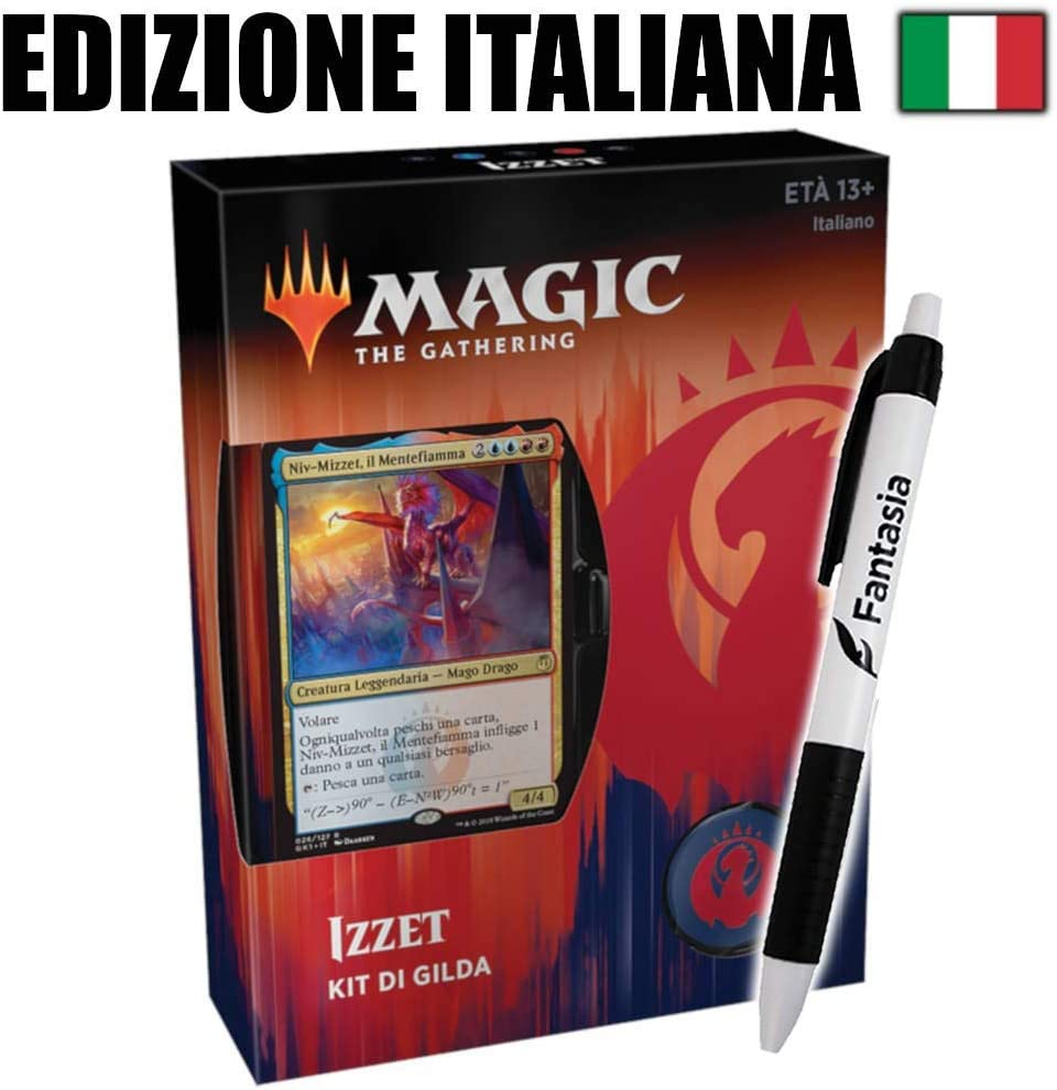 Fantàsia Izzet - Ravnica Guild Kit (IT) Pen