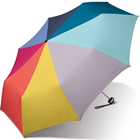 ESPRIT Alu Light - Plegable multicolor arcoiris 97 cm