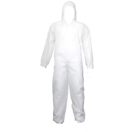 MKK - 19605-AZ01 - Desechable Traje M - 3 x l blanco traje de ...