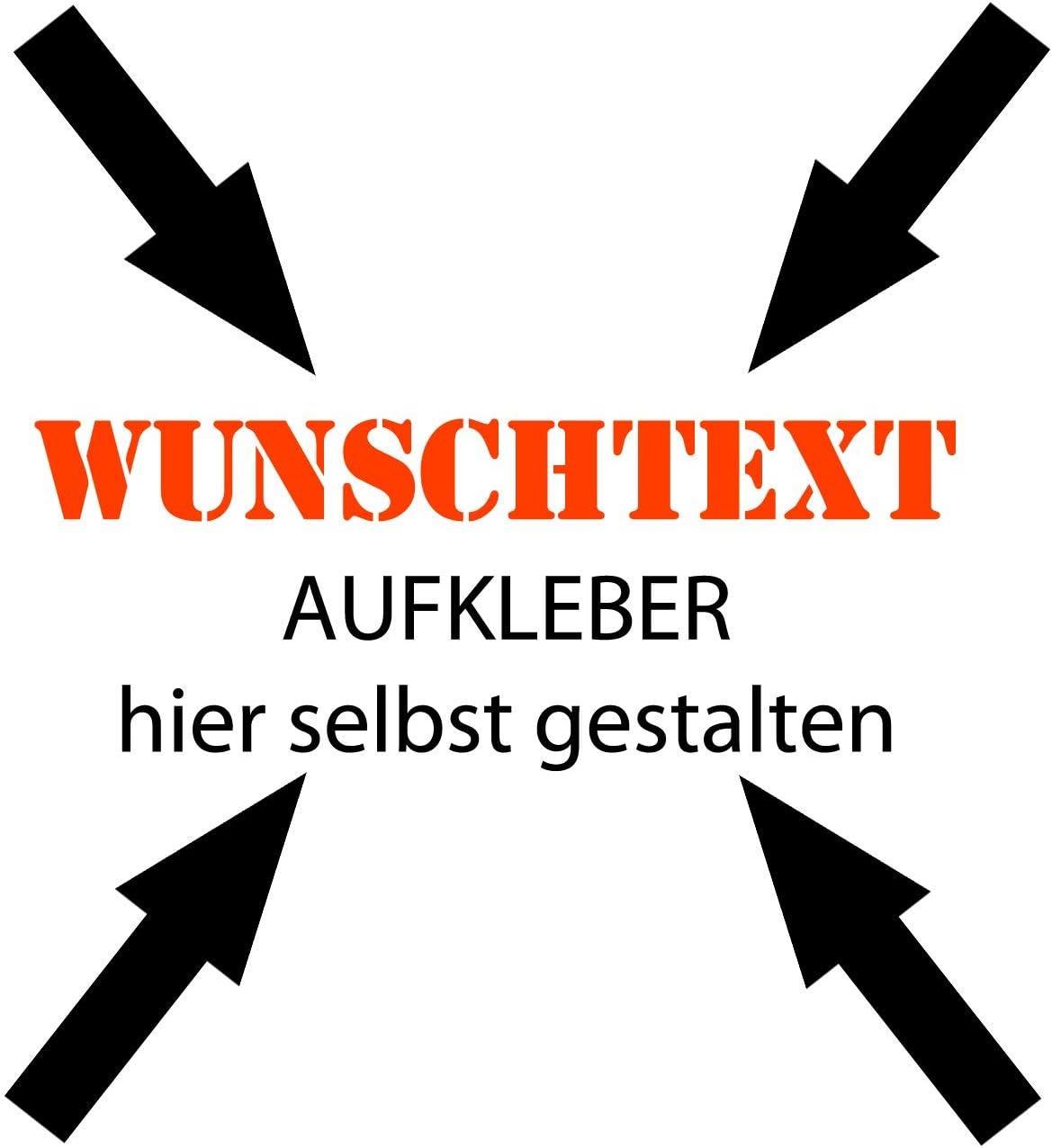 10cm Beschriftung Wunschtext Aufkleber Sticker Text Individuell Selbst Gestalten Auto