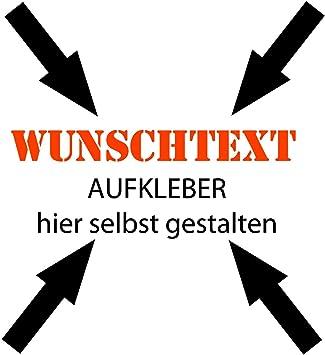 30cm Beschriftung Wunschtext Aufkleber Sticker Text Individuell Selbst Gestalten Auto