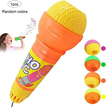 Isuper Echo Mikrofon, 2er Pack Kinder Mikrofon Spielzeug