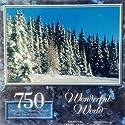 Wonderful World雪ホワイトForest In Knowlton、ケベック、カナダ750pc。パズルの商品画像