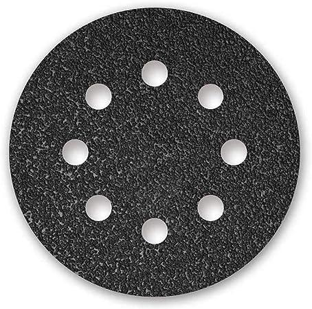 180 Stück Klett-Schleifscheiben Ø 115 mm Korn 40-240 Exzenter-Schleifer 8-Loch