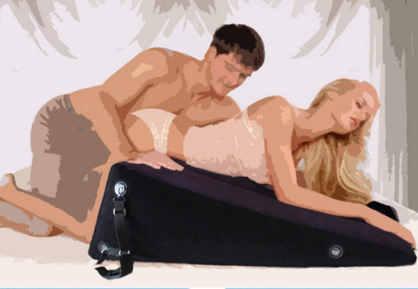 Cojín sexual, cojín lumbar hinchable triangular sofá esquinero ...