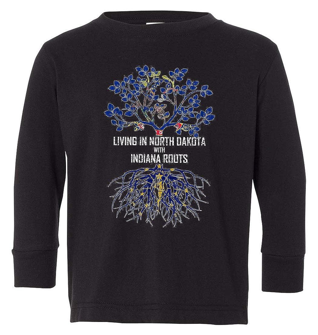 Tenacitee Babys Living in North Dakota Indiana Roots Shirt