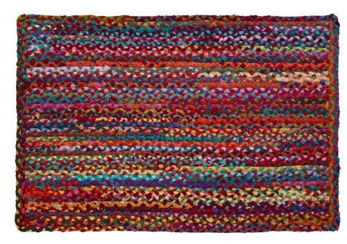 - HF by LT Cotton Carnivale Braided Rug, 24