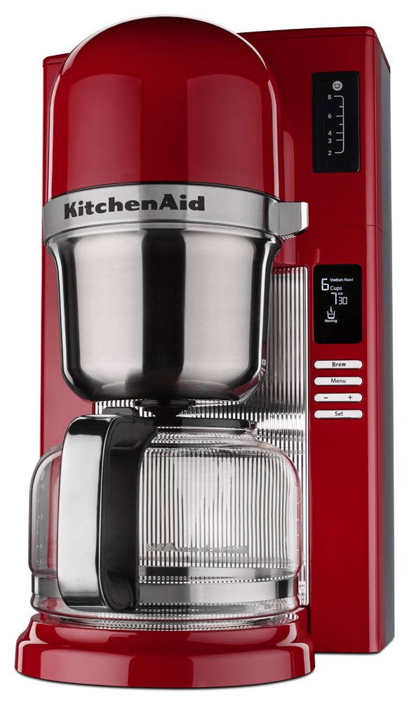 KitchenAid KCM0802ER Pour Over Coffee Brewer, Empire Red by KitchenAid