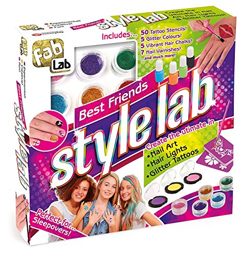 FabLab Style Lab Customise Your Look With This Jumbo Pack of Fabulous Styling Activities That are Fun To do With Friends and Great For Parties or Sleepovers For Ages 8+ by Fab Lab
