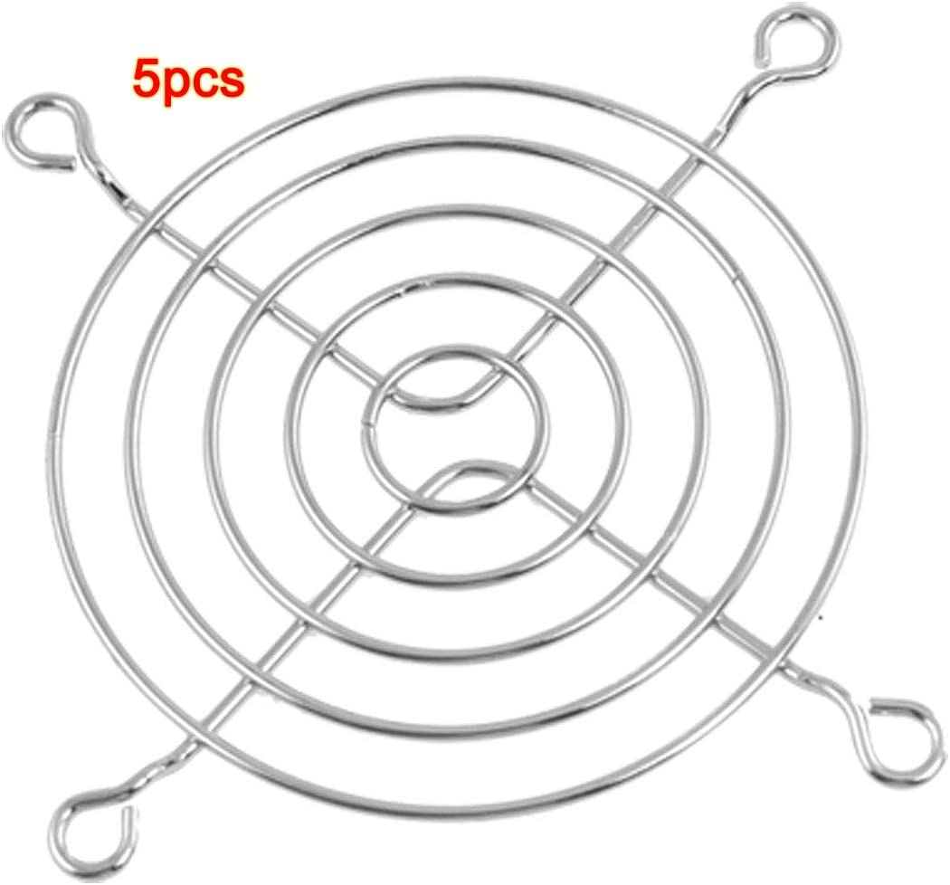 5 x Axial 80mm CPU Cooling Fan Grill Metal Wire Finger Guards Value-5-Star