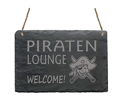 Pizarra « Piratas Lounge » Cartel presupuesto decorativa ...