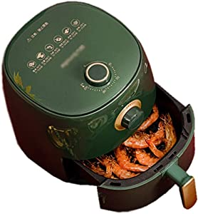 PJPPJH Air Fryer with Rapid Air Circulation System, VORTX Frying Technology,Timer and Adjustable Temperature Control for Healthy Oil Free or Low Fat Cooking