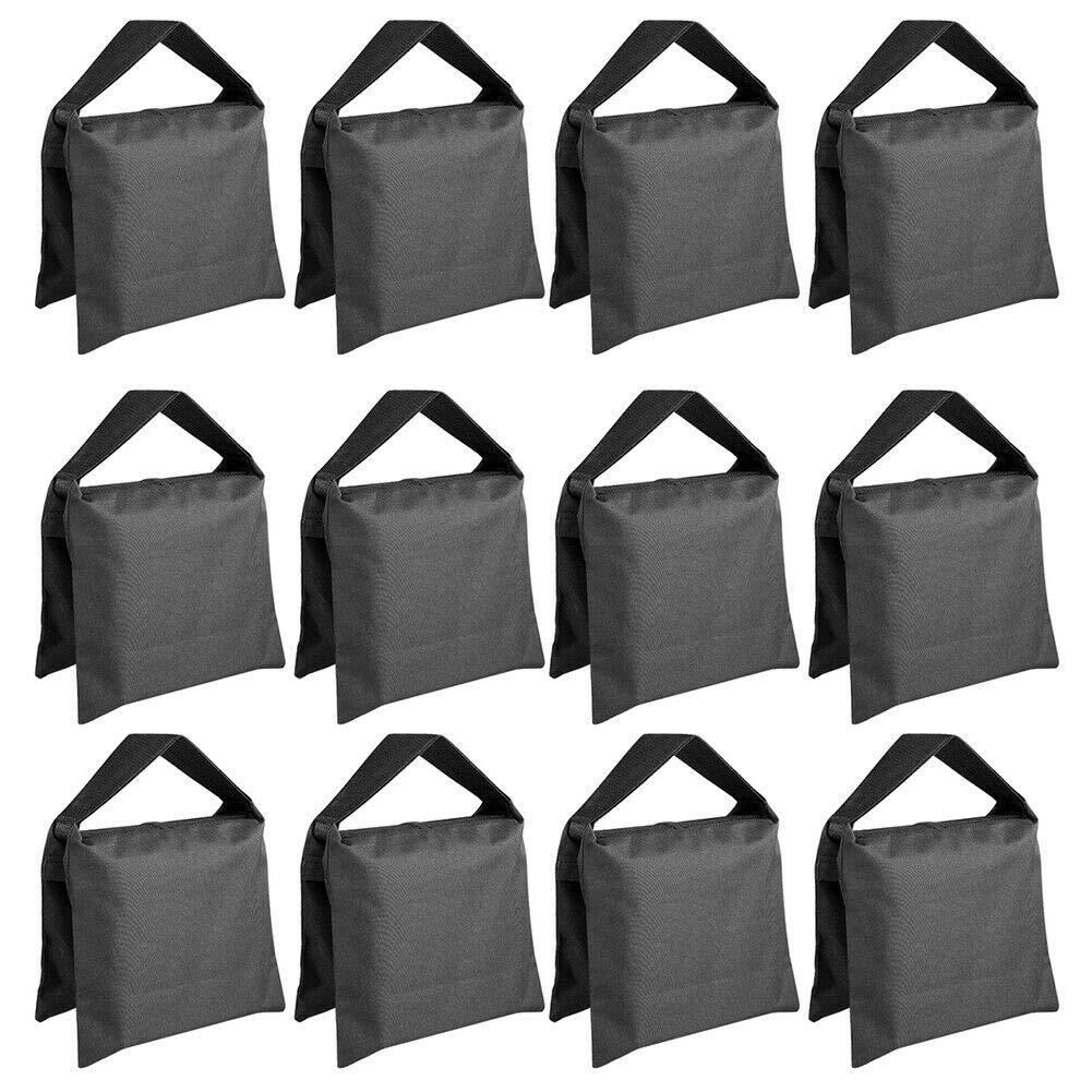 Ocamo Sandbag, 2/12 Pcs Sandbag Photographic Sand Bag for Photo Light Stand Boom Arms Tripod 12PCS by Ocamo (Image #1)