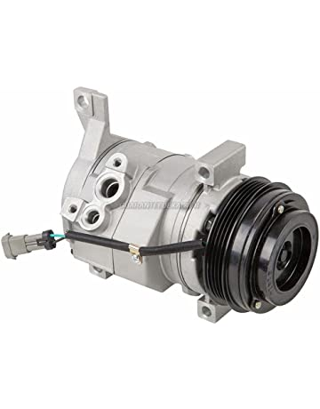 AC Compressor & A/C Clutch For Chevy Silverado Suburban GMC Sierra & Escalade -