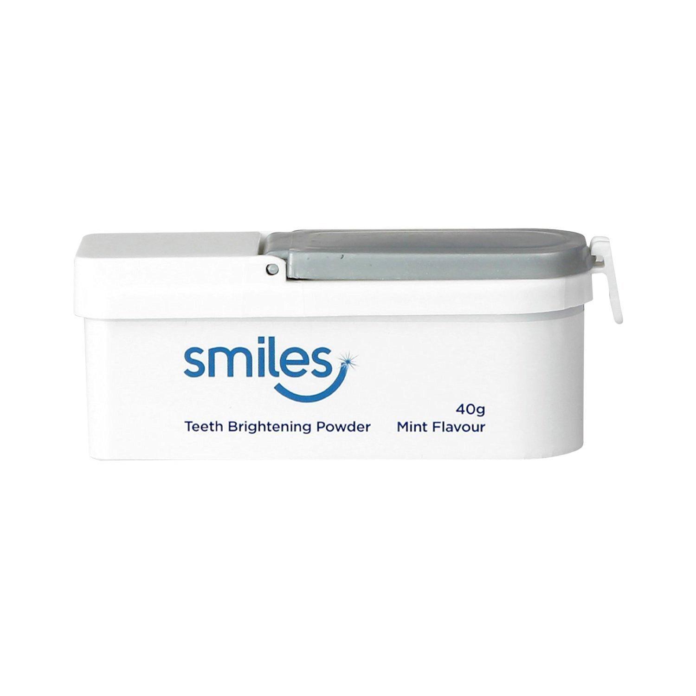 amazon com smiles teeth brightening whitening powder 40g mint