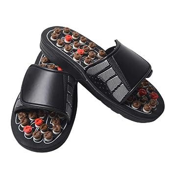 6728bfe09c7f2 Amazon.com : Ochine Foot Massage Slippers Foot Health Massage Shoes ...
