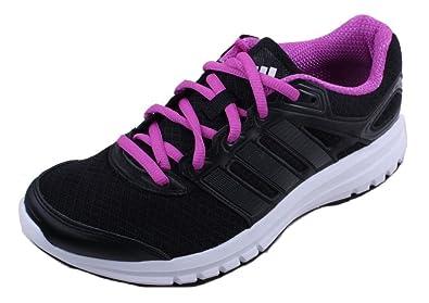 adidas duramo 6 frauen schwarz / flash / natürlich rosa laufen