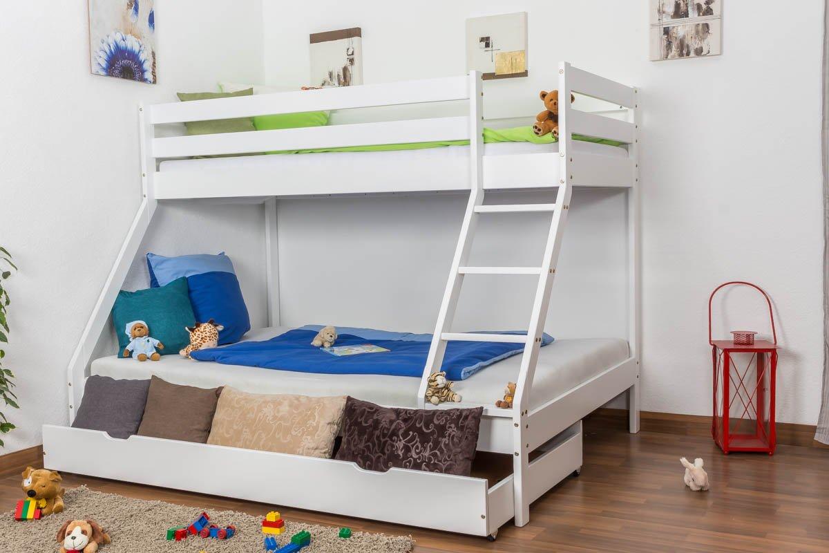 Etagenbett Lukas : Jugend etagenbett bettkasten für lukas buche vollholz