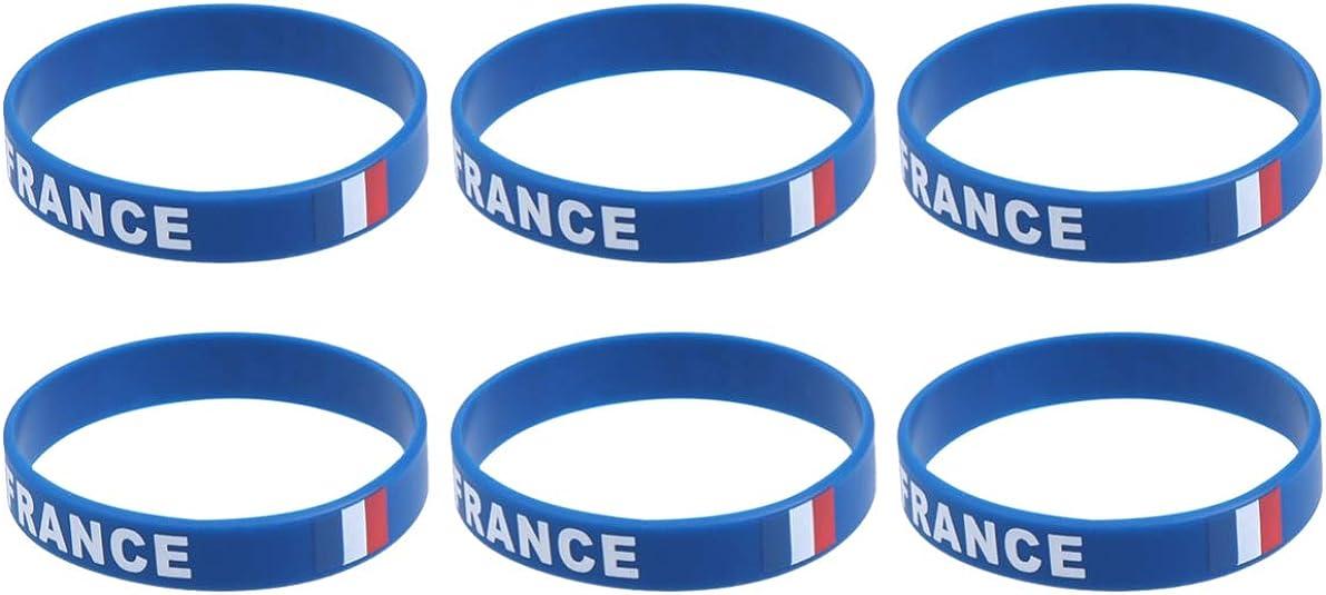 BESPORTBLE Bracelet Unisexe Silicone Bracelet en Caoutchouc