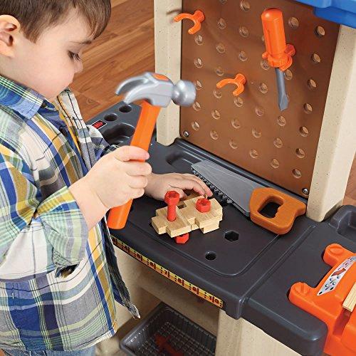 61Jj6Kv3OdL - Step2  Handy Helpers Workbench Building Set