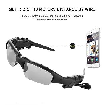Auriculares inalámbricos Bluetooth Gafas de sol Auriculares Móviles Manos Libres Estéreo Auriculares Música Gafas de sol