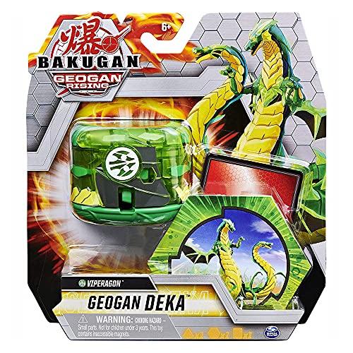Bakugan Geogan Rising Deka Ventus Viperagon Jumbo Collectible Transforming Figure