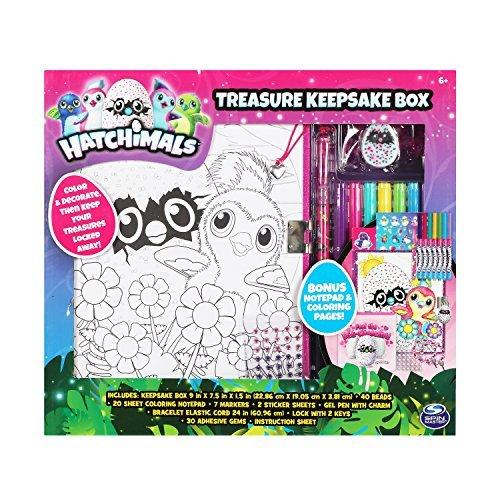 Fun89 Hatchimals Treasure Keepsake Box Set by  Fun89