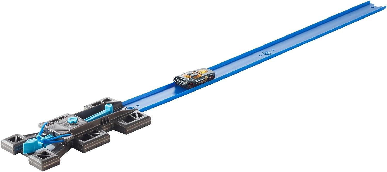 Hot Wheels Track Builder Lanzadera, Accesorios Para Pistas De Coches (Mattel FTF69)