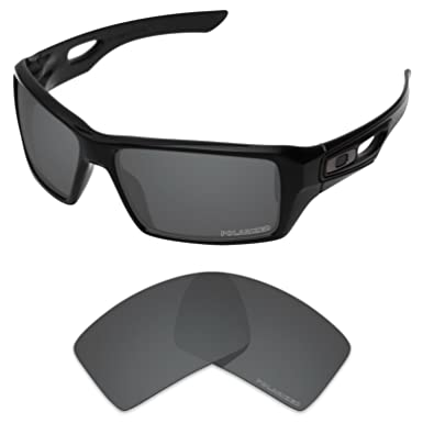 90933ed3bb Tintart Performance Lenses Compatible with Oakley Eyepatch 1 2 Polarized  Etched-Carbon Black