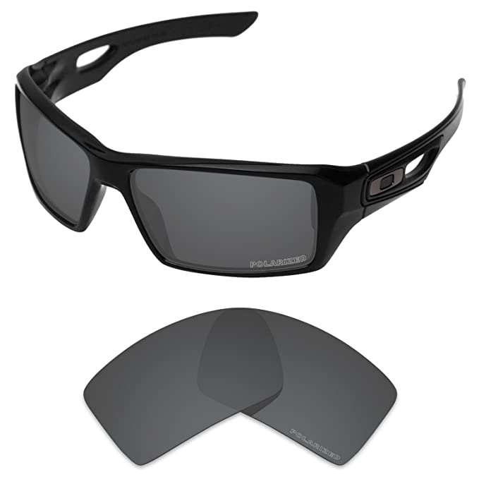 a05e870e2a8 Tintart Performance Replacement Lenses for Oakley Eyepatch 2 Polarized  Etched-Carbon Black