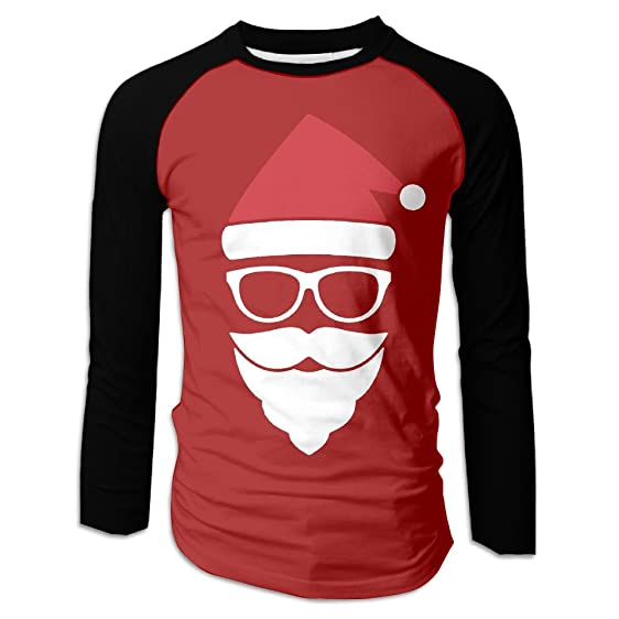 ncvv christmas trap dubstep the dirty nutcracker mens raglan t shirt long sleeve plain