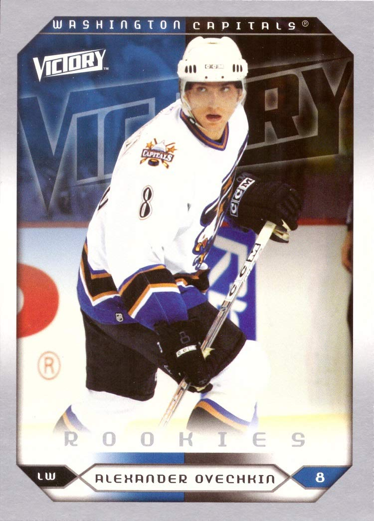 detailed look 91191 f55b5 2005-06 Upper Deck Victory Hockey #264 Alexander (Alex) Ovechkin Rookie Card