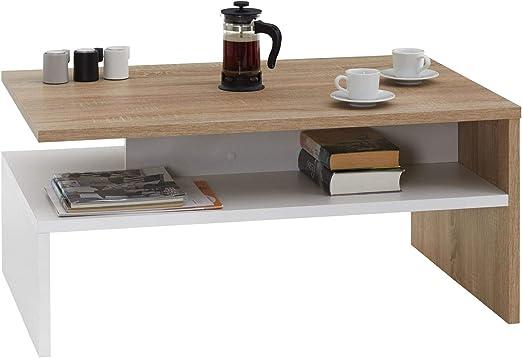 Idimex Table Basse Adelaide Table De Salon Rectangulaire Avec