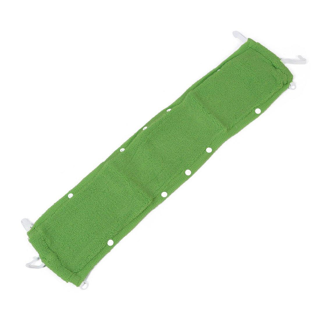 SODIAL(R) Washroom Reusable Warmer Soft Toilet Seat Cover Mat Pad Cushion Green AEQW-WER-AW133836