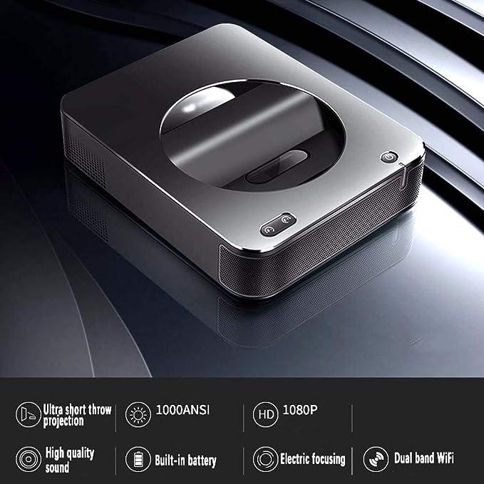 Proyector De Tiro Corto S6A 3000 Lúmenes Proyector DLP LED De ...