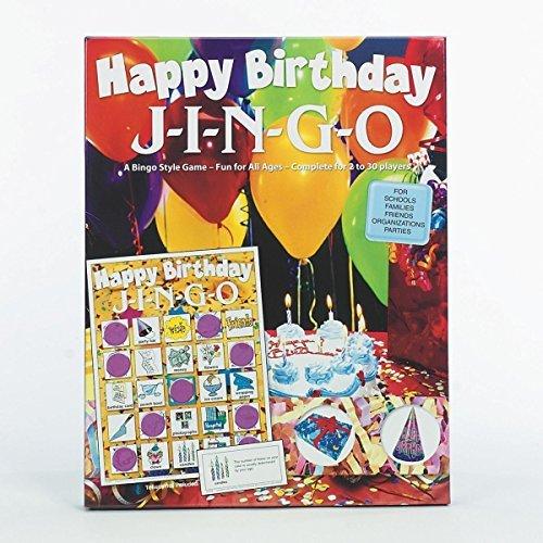 Happy Birthday Jingo Game